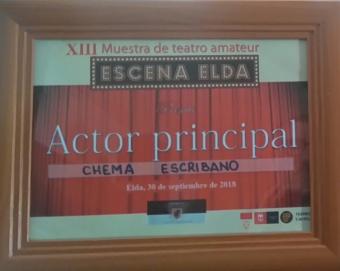 Premio Mejor Actor Elda